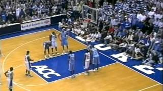 02/09/2005:  #2 North Carolina Tar Heels at #8 Duke Blue Devils