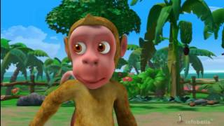 Monkey Menace Stories for Children in Hindi thumbnail