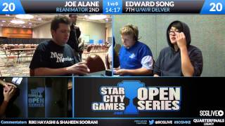 SCGMKE - Legacy - Quarterfinals - Edward Song vs Joe Alane