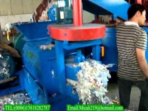PP/PE film washing and recycling line.