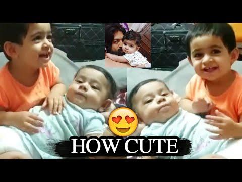 Rocking STAR Yash Daughter Ayra CUTE Playing with Junior Yash | Yash Daughter and Son New Video