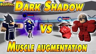 [NOVO CÓDIGO 300K] DARK SHADOW REFORMULADO VS MÚSCULO AUGMENTATION | Boku no Roblox remasterizado