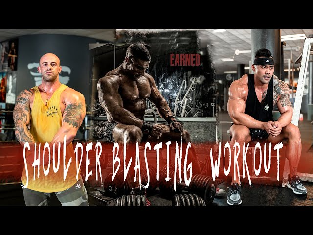 Build 3-D Delts!  Shoulder Training with IFBB Pro Jake Alvarez and USA Finalist, Ryan Cullenward.