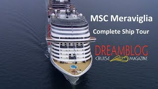 Our complete ship tour of the new MSC Meraviglia, realized during t...