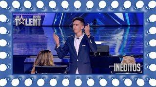 Los nervios de esta mago evitan que conquiste con su magia | Inéditos | Got Talent España 2018
