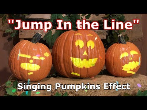 Jump In the Line  Singing Pumpkins Effect Animation