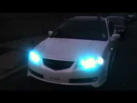 Acura Tl Halo Rings YouTube - 2006 acura tl headlights