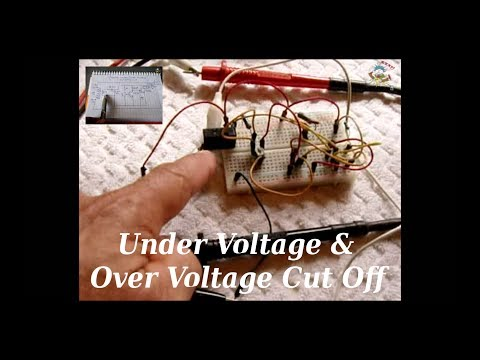 Under Voltage/Over Voltage Cut Off Circuit (12vdc/120v/240v