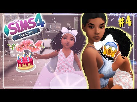 OUR FIRST BORN ?? // THE SIMS 4 SEASONS #4 thumbnail