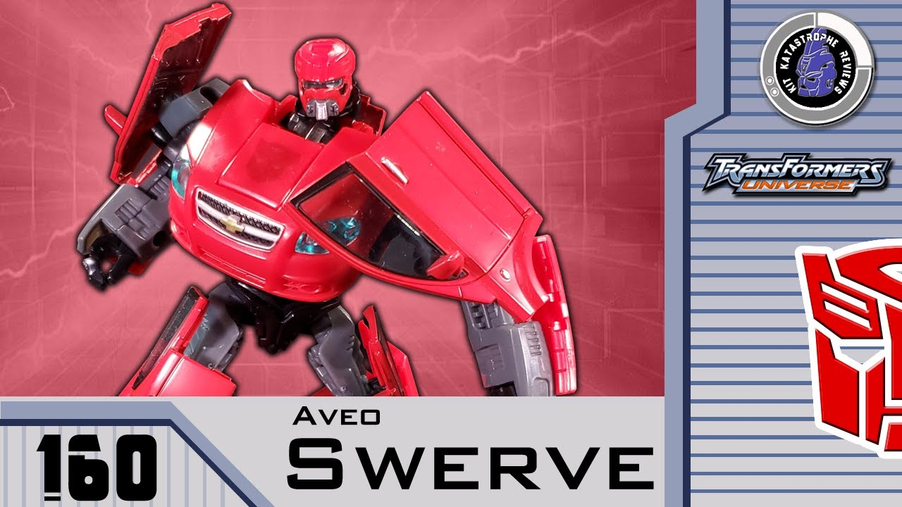 Transformers: Universe AVEO SWERVE Review by Kit Katastrophe