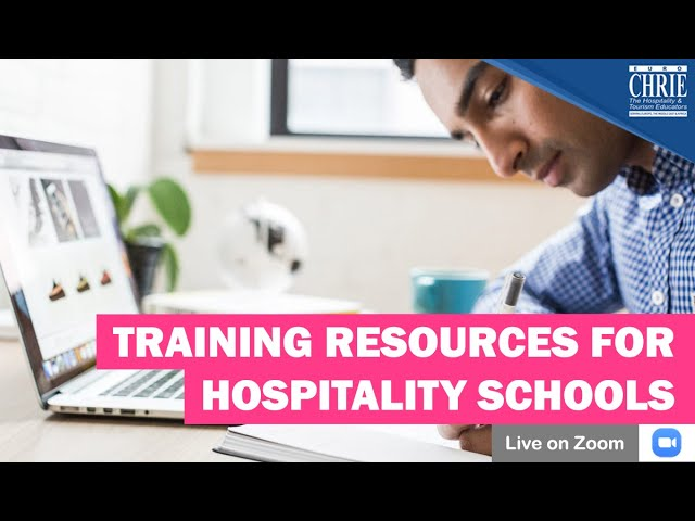 Training Resources for Hospitality Schools & How to integrate them into the Curriculum
