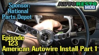 American Autowire Installation '65 Mustang Part 1 Episode 123 Autorestomod