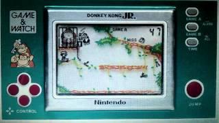 LCD Games: Donkey Kong Jr Nintendo Game & Watch