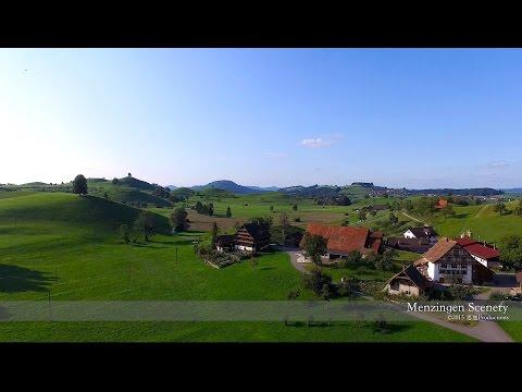 4K Menzingen, Zug SWITZERLAND  空撮