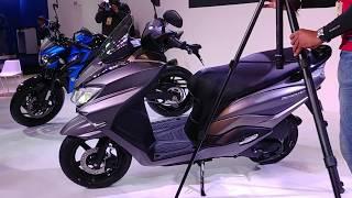 Suzuki Burgman Street 125cc Scooter Walkaround in Hindi | Auto Expo 2018