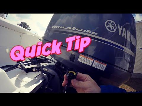 How to Flush Saltwater from a Yamaha 4 Stroke Outboard