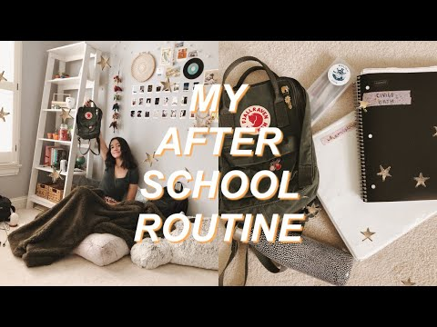 download my after school night routine �