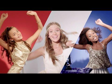 KISSES & DANCIN' OFFICIËLE VIDEOCLIP | JUNIORSONGFESTIVAL.NL