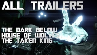 Destiny all Cinematic Trailers 2014 - 2015