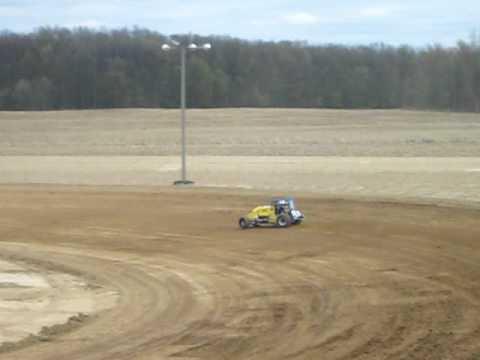 Nick Landon at I-96 Speedway