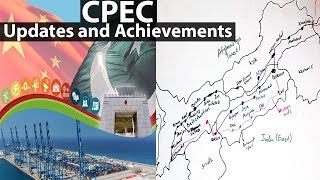 CPEC Updates and Achievements - Current affairs - CPEC Map