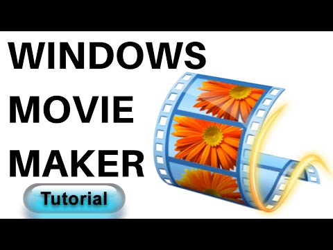 Windows Movie Maker Tutorial For Beginners 2017 | video editing software