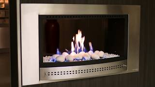 Chad-O-Chef - Double Sided Fireplace Burning