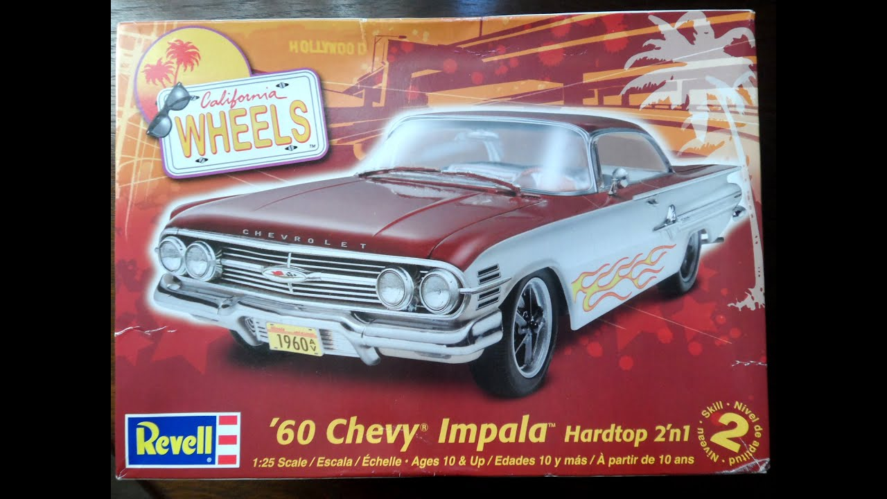 Model Kit Review - Revell 60' Chevy Impala (08.12.14 ...