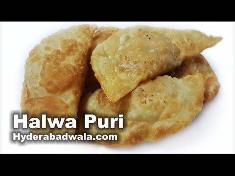 Halwa Puri Recipe Video – How to Make Hyderabadi Milad Un Nabi Special Halwa Puri – Easy & Simple