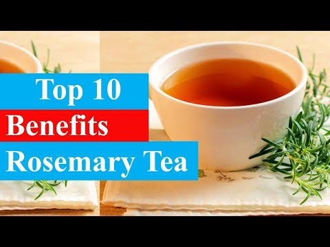 Top 10 Benefits of Rosemary Tea | Health Benefits - Smart Your Health