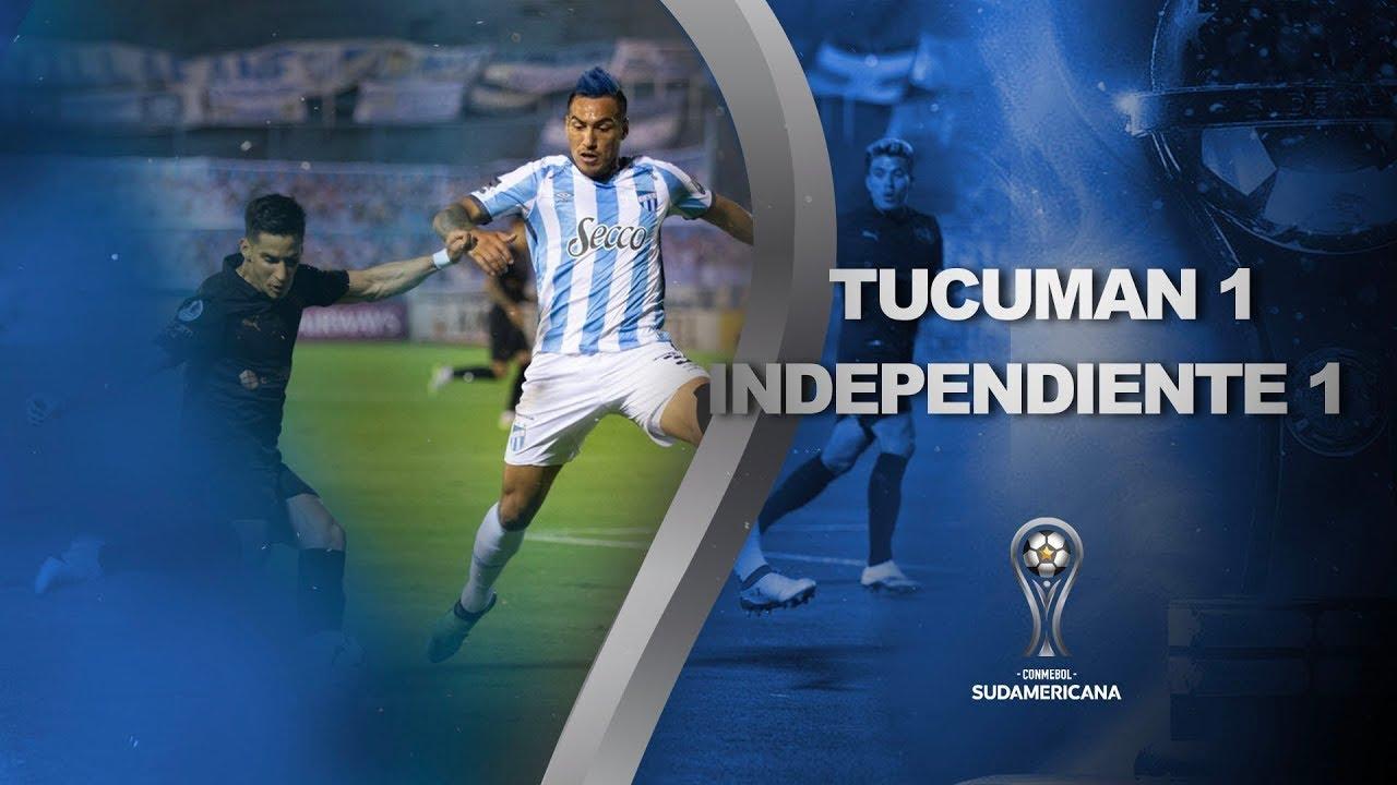 Atlético Tucumán vs. Independiente [1-1] | RESUMEN | Segunda Fase | CONMEBOL Sudamericana