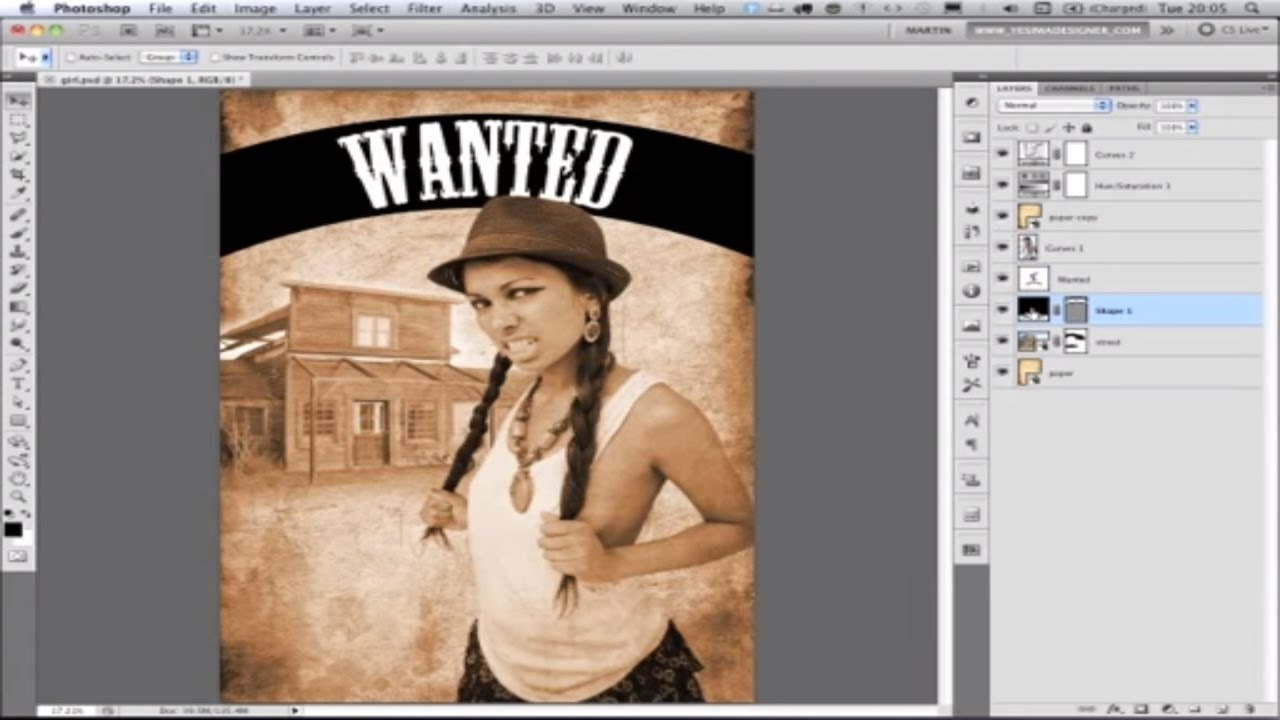 Poster design class 12 - How To Design A Movie Poster In Photoshop Cs5 Academy Class Youtube
