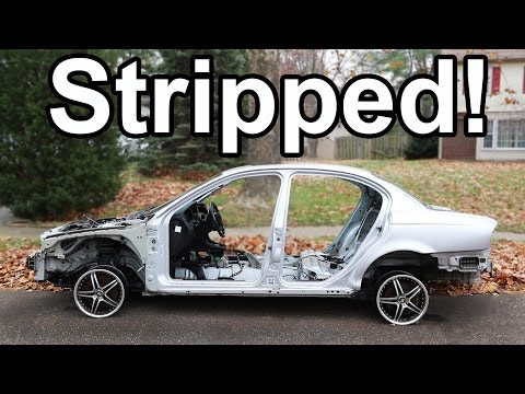 How to Strip a Car COMPLETELY