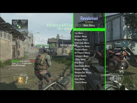 Call of Duty Black Ops 2 -- Os hacker mais NOOB da historia