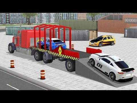 Car Transporter Trailer Truck (by Whiplash Mediaworks) Android Gameplay [HD]