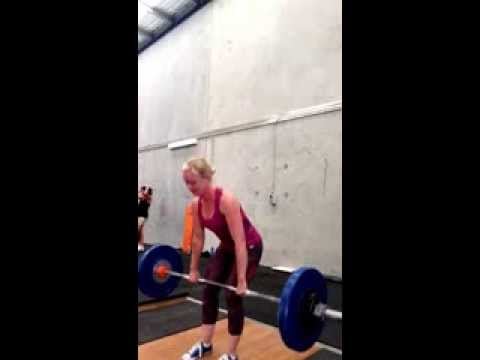 dfc9db12396b2c Daily Dose Fitness - Deadlifts 10 x 77.5kg - YouTube