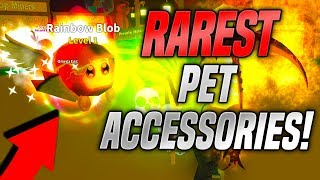 *NEW* PET ACCESSORIES IN ROBLOX MINING SIMULATOR! *RAREST*