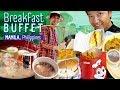 FIVE STAR Spiral BREAKFAST BUFFET & Jollibee Dinner in Manila Philippines