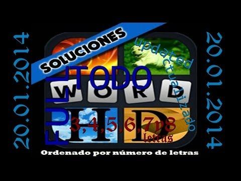 4 Fotos 1 Palabra | Todas las soluciones por número de letras (1-530) [FULL]