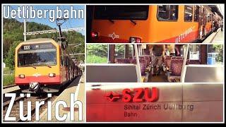 INSIDE SWISS TRAIN / Fahrt mit der Uetlibergbahn S10 vom HB Zürich zum Triemli