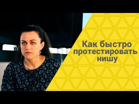 Как быстро протестировать нишу   Выбор ниши   Екатерина Азизова
