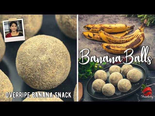 പഴുത്ത് അധികമായ പഴം ഇനി കളയല്ലേ | Overripe Banana Recipe | Snack with Banana | Banana Recipe | Snack