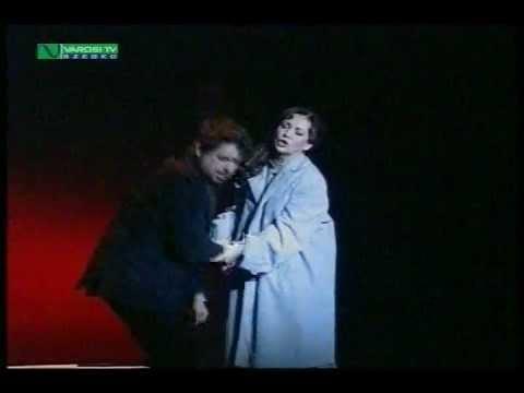 La Bohéme (Act3) Andrea Rost (Mimi) Boldizsár László (Rodolfo) Szeged 2010