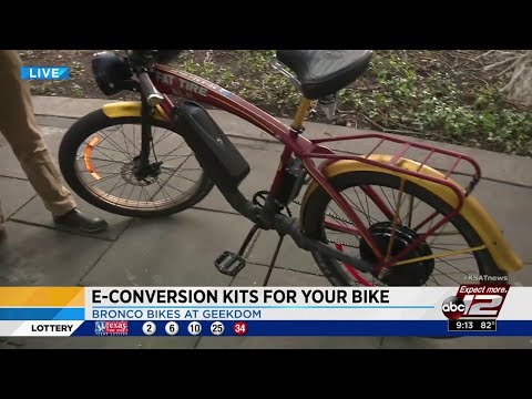 Tech SA: Company offers speedier, greener option for bicyclists