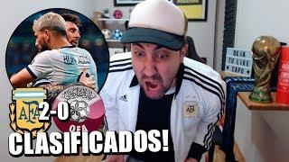 Argentina Vs Qatar | Copa América Brasil 2019 | Reacción de un hincha