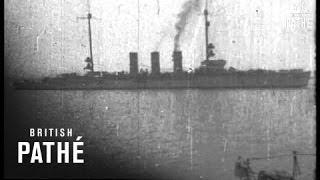 Aboard British Battleship (1914-1918)