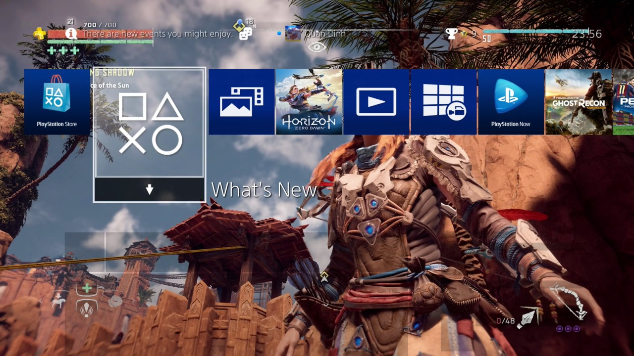 ps4 guide - how to create custom wallpapers and set as background on