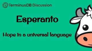 Esperanto – TerminusDB Discussion #22