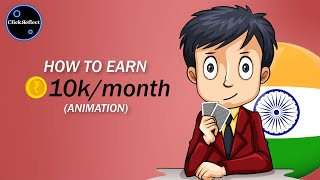 How to earn Rs. 10k/month with Zero Investment in India 2020 | Online Poker