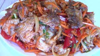 Рыба Хе Корейская Вкуснятина ! Пошаговый рецепт.